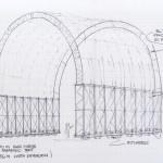 Parabolic Tent drawing